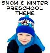snow and winter theme